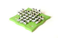 Solitaire Cow - Traditional Wooden Childrens Kids Game New Fun Design