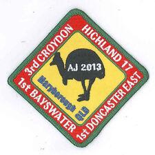 AJ2013 - AUSTRALIA SCOUT NATIONAL JAMBOREE - TROOP H17 SCOUTS BADGE