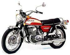 Vintage FITS SUZUKI T500 COBRA TITAN 1971-1975 CHROME TANK TRIM Highest Quality
