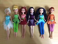 Disney Barbie Fairy Doll TinkerBell Rosetta Silvermist Vidia Periwinkle Fawn