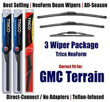3-Pack NeoForm Front + Rear 2012-2017 GMC Terrain - 162415/1715/13N