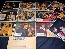 clint eastwood UN FRISSON DANS LA NUIT  jeu photos cinema lobby cards 1971
