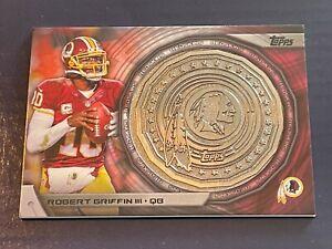 Robert Griffin III 2014 Topps NFL Commemorative Kickoff Coin #NFLKCRG Redskins