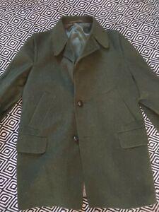 Green Loden Shooting  field  Hunting coat