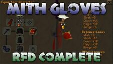 Mith Gloves With Requirements Service Guide Runescape Osrs #1 Trusted Rs Seller