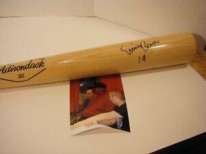 Ernie Banks Autographed Bat