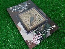 Loose Feathers Series 9 The Last Ripe Berries Blackbird Designs Cross Stitch Pat