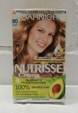 Pflege Haarfarbe Garnier Nutrisse Creme Nr. 80 Vanilla Blond