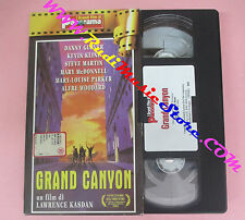 VHS film GRAND CANYON Lawrence Kasdan Danny Glover Kline PANORAMA (F7) no dvd
