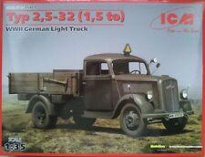 ICM 35401 German Light CAMION TYPE 2,5-32 (1,5 To) 1:35