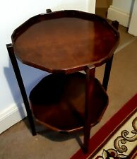 1930s vintage Octagonal Table Antique Occasional Hall Table.