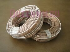 New listing 2 Pack - 50Ft 14Awg Gauge High Enhanced Speaker Wire Audio Cable - Total 100Ft