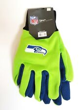 NFL Two Tone Adult Size Gloves- Seattle Seahawks