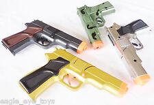 4x Toy Guns MEGA Set! Military Detective 4x 9MM Pistol Cap Guns Set (SBGC)