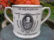 More details for scarce edward vii in memoriam royal commemorative loving cup