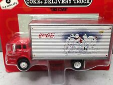 HO 1/87 Athearn # 8205 Ford Series C COE Single Axle w/dryvan Coca-Cola White