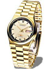 Citizen Classic Automatic Men's Gold Stainless Strap Watch NH3742-56R