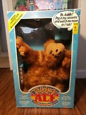 VTG 1987 COLECO TALKING ALF DOLL THE STORYTELLING ALIEN TOY NEW IN BOX