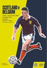 Football Friendly International Scotland Fixture Programmes