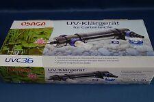 36 Watt UVC Klärer für Teichanlagen und Aquarien Osaga 36 Watt