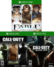 7 GAMES: Modern Warfare 1-3 + Fable 1-3 + Black Ops - Xbox One XB1 Call of Duty