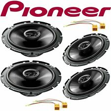 Car stereo front and rear 4 speakers kit for PIONEER Lancia Lybra 1999 - 2005 wi