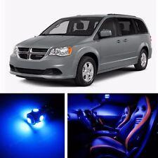 9pcs LED Blue Light Interior Package Kit for Dodge Grand Caravan 2008-2015