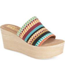 Sbicca Women's Violetta Platform Wedge Sandal Size 7