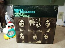 Cuby & The Blizzards King Of The World blues psych LP VINYL ALBUM