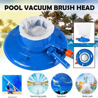 Swimming Pool & Spa Vacuum Brush Cleaning Tool Pond Pool Fountain Vacuum