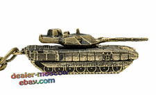 Bronze Solid Brass Keychain Russian Main Battle Tank T-14 Armata Keyring