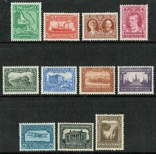 1931 Newfoundland SG198-208 Set of 11 1c-30c Very Fine Fresh L/M/M Cat. £225.00