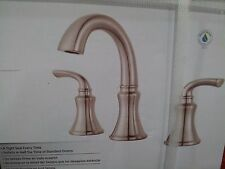 Price Pfister Solita Brushed Nickel 2 Handle Widespread Faucet  #F-049-SOKK