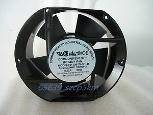 Metal Case AC 220V 0.22A 38W 172mmX151mmX51mm Ball bearings Cooling Fan