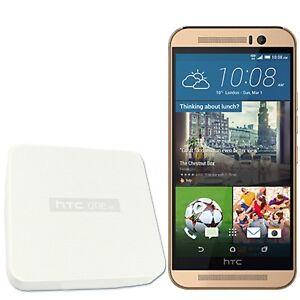 BNIB HTC One M9 32GB Gold on Gold Factory Unlocked 4G LTE 3G 2G GSM New