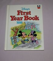 Book HC Disney World of Reading  - FIRST Yearbook 1998