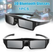 3D Bluetooth Active Shutter Glasses for Epson Sony Samsung Panasonic 3D TV USB