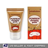 [ Too Cool For School ] Pumpkin Sleeping Pack 100ml +Free Sample+