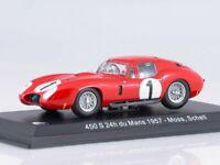 Scale model car 1:43 Maserati 450S 24h du Mans 1957 Moss, Schell