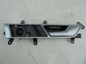 AUDI A6 2007 O/S FRONT DOOR HANDLE - INTERIOR (FRONT DRIVER SIDE)