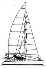 Catiana 42 ft catamaran Crowther design model 226
