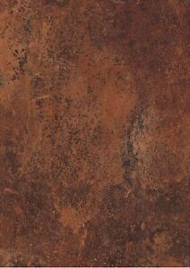 Contact Paper Sticky Back  Craft Vintage Copper Look A4 Sheet Design Vinyl