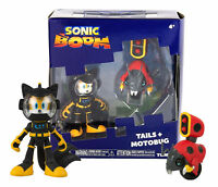 Sonic Boom - Tails and Moto Bug 3 Inch Articulated Figures (2 Pack)