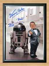 Kenny Baker R2D2 Star Wars Signed Autographed A4 Photo Print Poster Memorabilia
