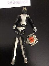 Vtg G.I. Joe 1983 Torpedo Action Figure S2 V1 & Backpack For Repair Parts