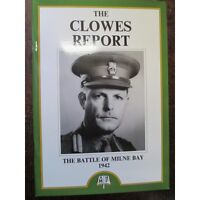 Battle of Milne Bay 1942 Clowes Report 1st Battle to defeat Japanese WW2 Book