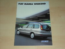 51537) Fiat Marea Weekend Prospekt 199?