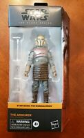 "Star Wars Black Series The Armorer Mandalorian 6"" Action Figure In Hand"