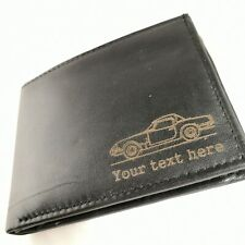 Triumph Spitfire - Personalised Leather Wallet merchandise gift present