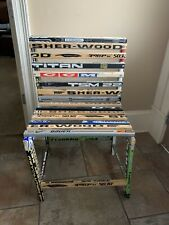 Hand Made Hockey Stick Boot Bench/chair One Of A Kind